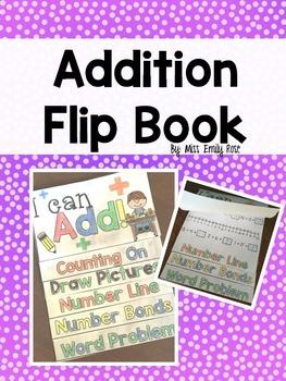 Addition Flip Book