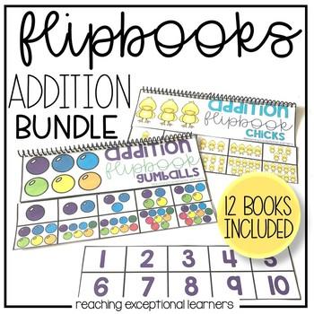 Visual Addition Flipbooks Through the Year