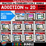 Addition Fluency 2.OA.2 | BOOM | MENTAL MATH STRATEGIES BUNDLE