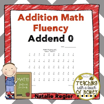 Addition Fluency: Addend 0 Addition Worksheets