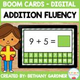 Addition Fluency - Boom Cards - Digital - Distance Learning