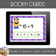Addition Fluency - Boom Cards - Sums of 18, 19, & 20