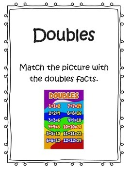Addition Fluency - Doubles and Make a Ten