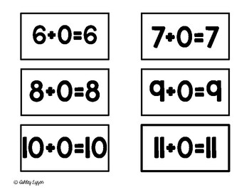 Addition Fluency Facts