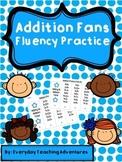 Addition Fluency Fans