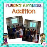 Addition Math Facts Fluency & Fitness® Brain Breaks - distance learning