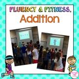 Addition Math Facts Fluency & Fitness® Brain Breaks