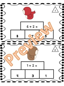 Addition Fluency Flash Cards