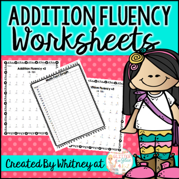 Addition Fluency Freebie: Sums to 10