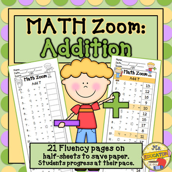 Fact Fluency Addition*