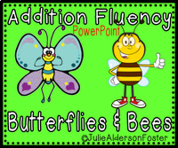 Addition Fluency Powerpoint 2 for First Grade
