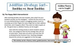Addition Fluency Practice- Doubles and Near Doubles or Dou
