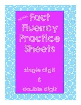 Addition Fluency Print & Go