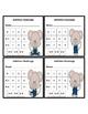Addition Fluency Progress Chart (Mouse Themed)