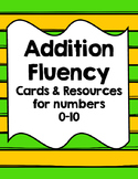 Addition Fluency Set 0-10