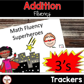 Addition Fluency (Superhero Theme)
