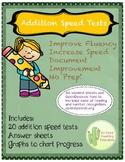 Addition Fluency Tests