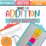 Addition Fluency Tracker Craftivity