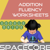 Addition Fluency Worksheets Google Drive