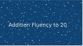 Addition Fluency to 20