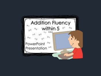 Addition Fluency within 5 K.OA.5 PowerPoint Presentation