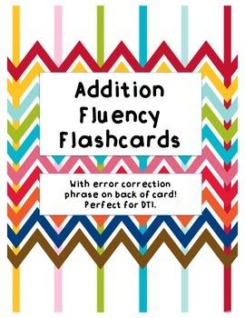Addition Flunecy Flashcards