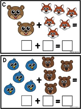 Addition Forest Animal Sums To 10