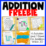 FREE Addition Worksheets & Games: Activities for Addition