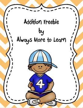 Addition Freebie