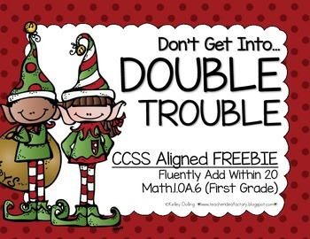 Addition Freebie (Doubles)