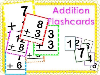 Addition Fun Flashcards