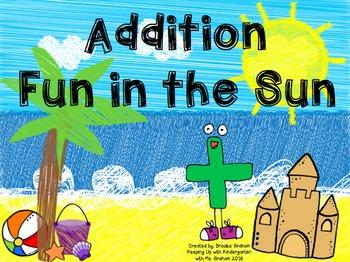 Addition Fun in the Sun
