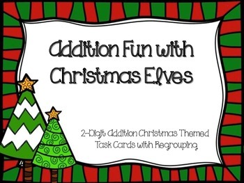 Addition Fun with Christmas Elves