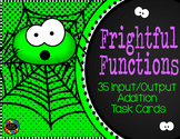 Addition Function Tables Input Output Task Cards