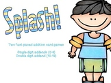Addition Game: SPLASH! a Differentiated  Addition Game