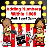 3rd Grade Addition Within 1,000 Game {2.NBT.7, 3.NBT.2}
