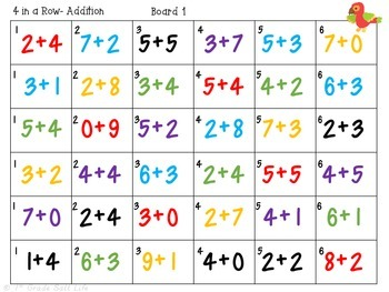 Addition Games / Addition to 20