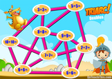 Addition Game - Triarc - 20 Addition Game Boards & a PowerPoint Version