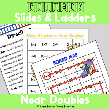 Addition Game: Adding Near Doubles