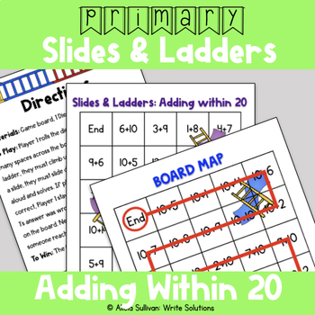 Addition Game: Adding Within 20