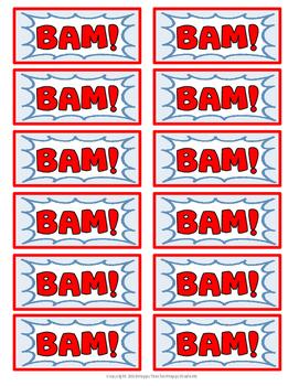 Addition Game - Addition BAM Game - Zap, Kaboom!