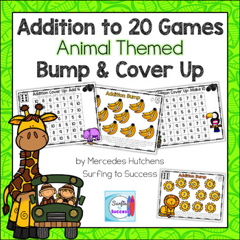 Addition to 20 Games Bump and Cover Up Animals