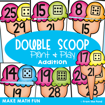 Addition Game - Double Scoop