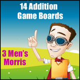 Addition Game - 3 Men's Morris - Excellent Addition Practice Game