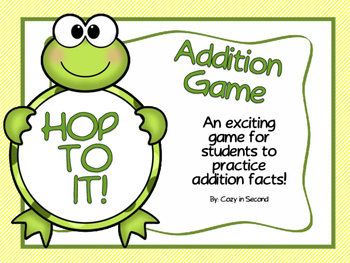 Addition Game: Hop to It!