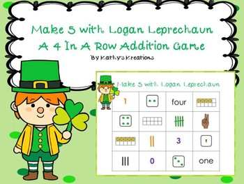 Addition Game -Make 5 With Logan Leprechaun