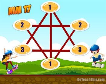 Addition Game - NIM 17