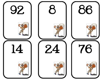 Addition Game - Numbers to 100