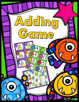 Addition Game (Sums up to 20) - Find the Missing Number