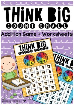 Addition Game - Think Big, Count Small